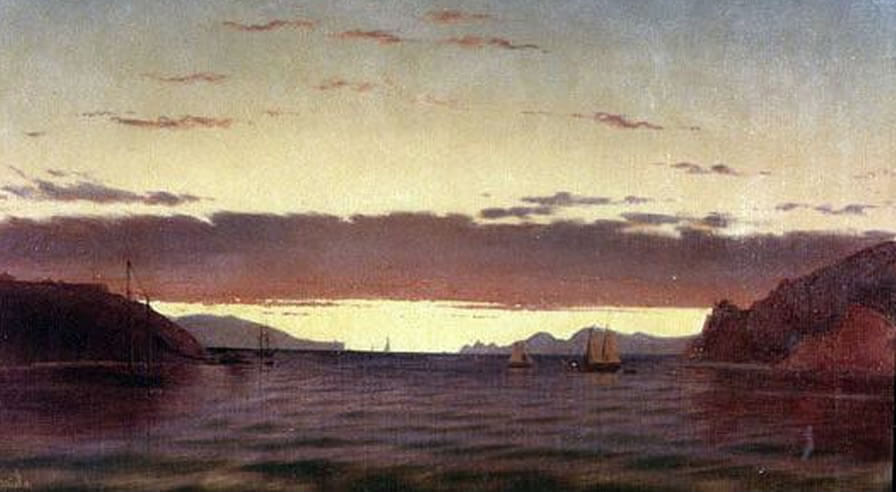 Golden Gate, San Francisco Bay, Fortunato Arriola (1827-1872)