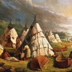 Home_-_native_american_encampment_on_lake_huron