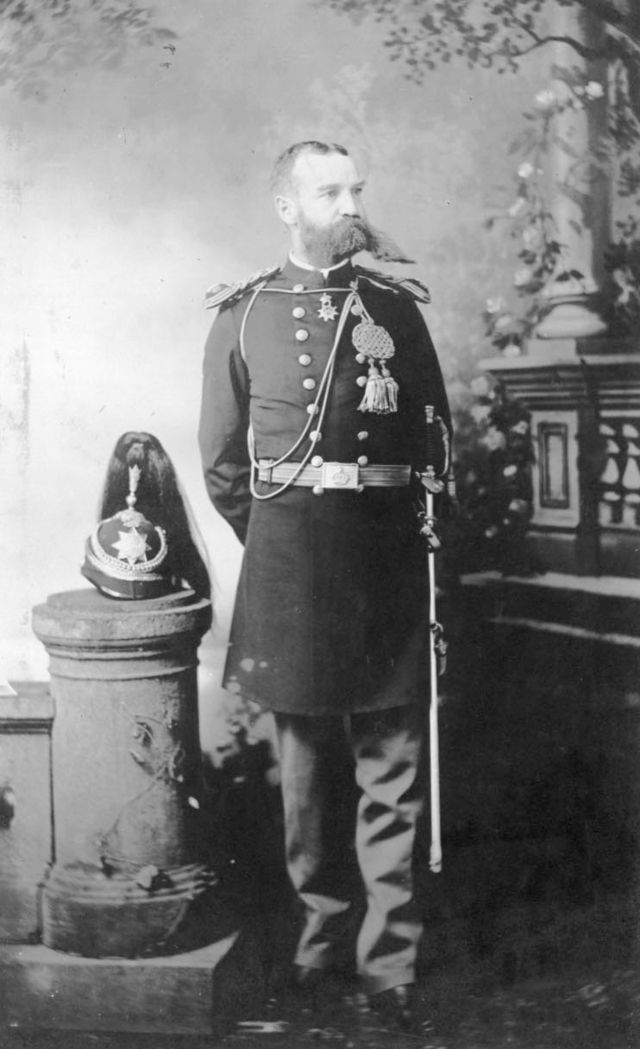 Col. Volney V. Ashford in Honolulu Rifles dress uniform