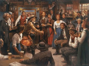 """Andy Thomas, """"Tales of the Old West"""""""